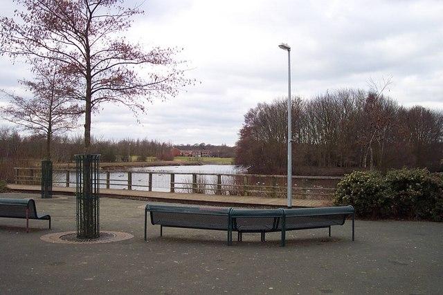 Lake in the Centre of Perton