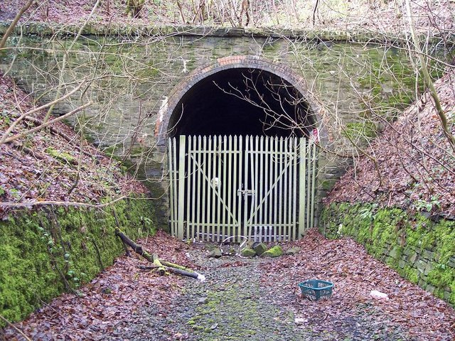 Disused tunnel at Ton-y-pistyll, Newbridge, Caerphilly