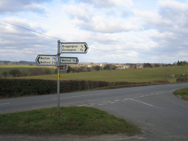Bunkers Hill sign