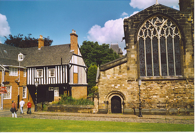 Castle Yard, Leicester.