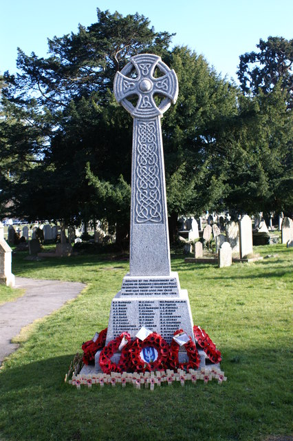 War Memorial at St George Church