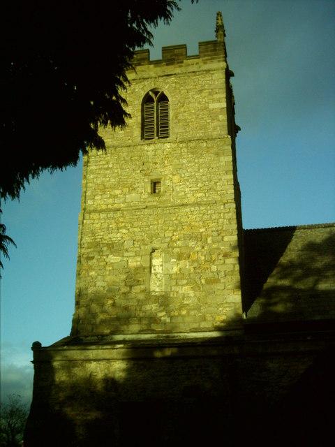 St Andrews Church Tower, Aycliffe Village