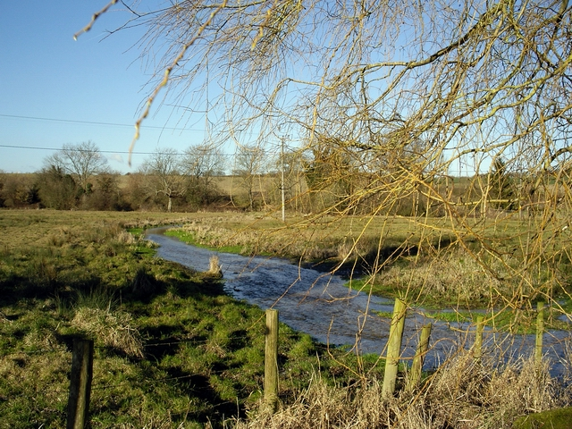 River Itchen looking north from Cheriton Mill