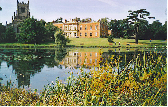 The Lake at Staunton Harold Hall.