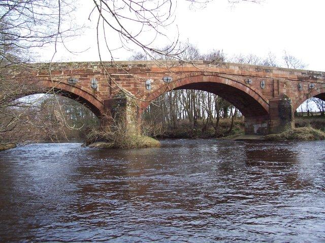 A6071 river bridge.