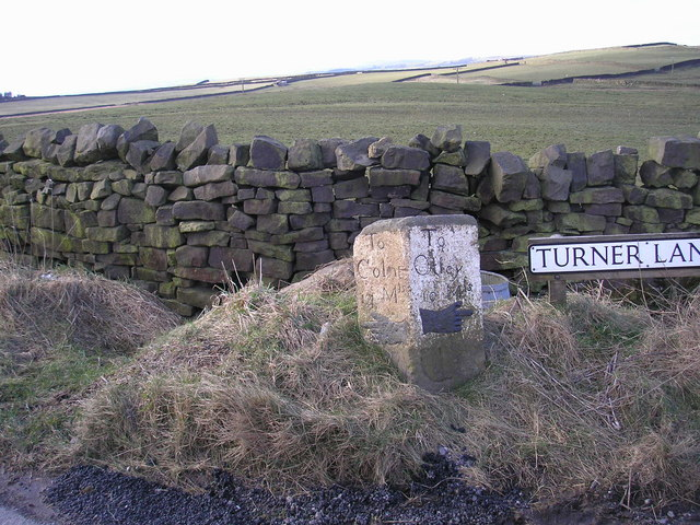 Signpost at crossroads