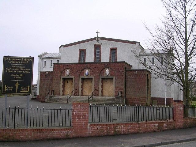 St Catherine Labouré Catholic Church, Balornock