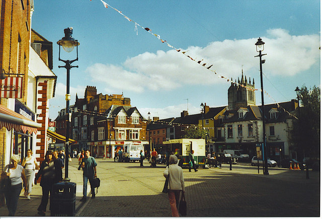 Market Place, Melton Mowbray.