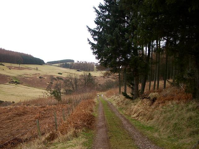 Private road in Cloan Estate