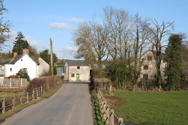 Hemyock: approaching Culm Bridge