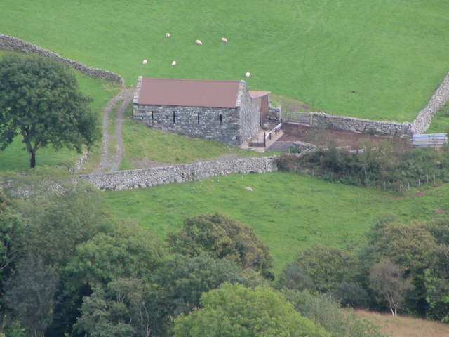 Old stone barn south of Sylfaen