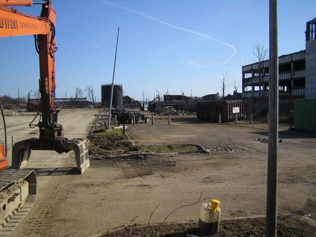 Hemel Hempstead: Buncefield Oil Storage Depot