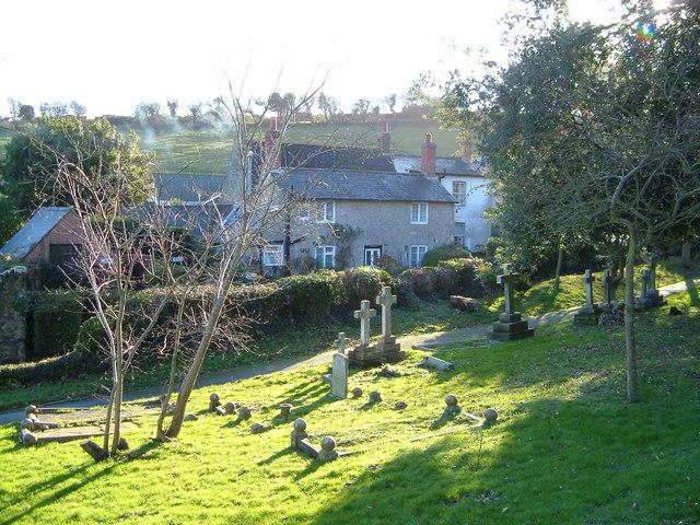 Niton churchyard