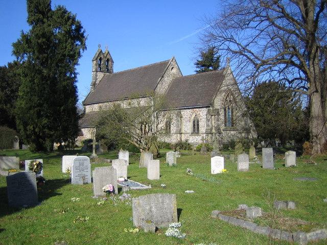 Leverstock Green: Holy Trinity Church