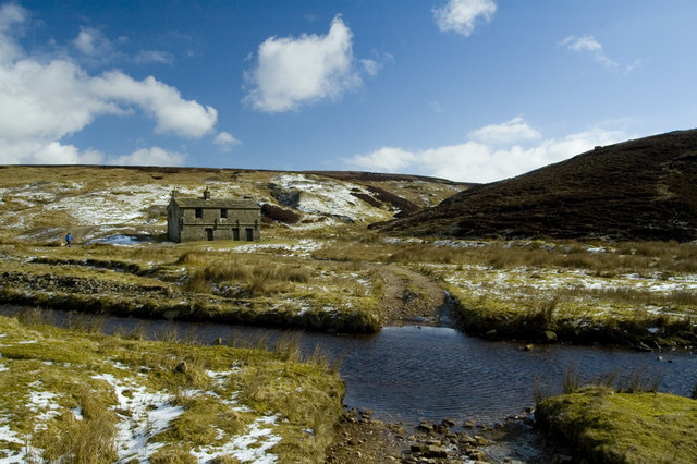 Abandoned house in Mossdale Scar