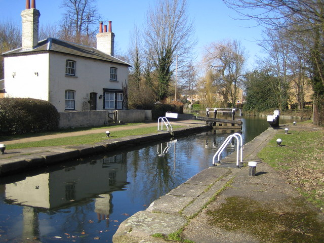 Grand Union Canal: Lock Number 68: Nash Mills Lock