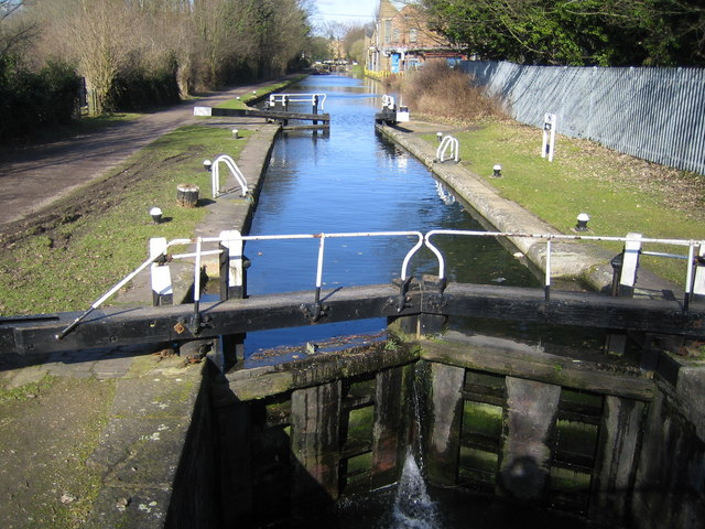 Grand Union Canal: Red Lion Lane Lock