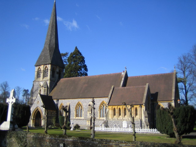 Hunton Bridge: St Paul's Church, Langleybury