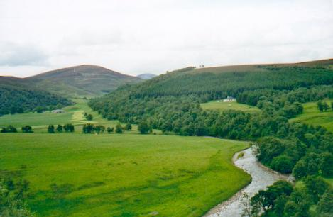 River Avon south of Tomintoul