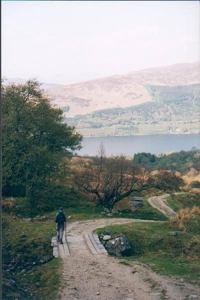 Track to Loch Earn