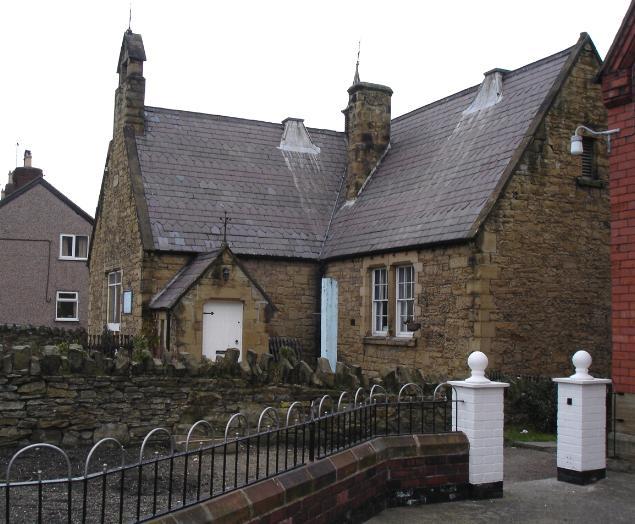 Stone chapel at Ffynnongroyw