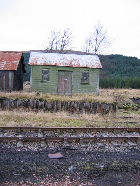 Shed adjacent to Rannoch Station