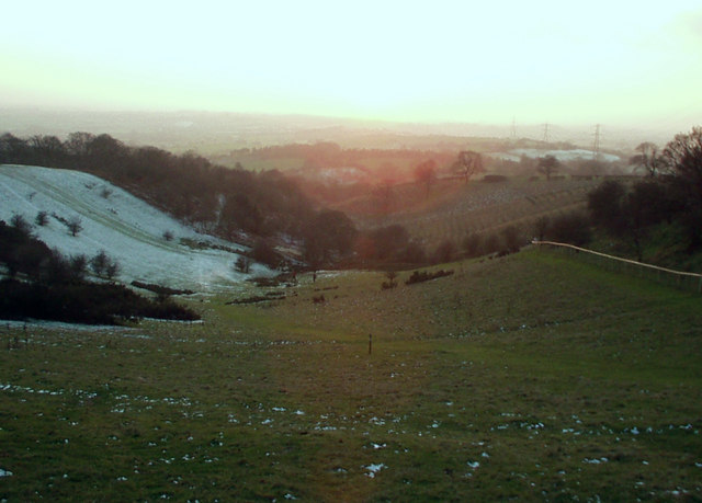 View south west from Windmill Hill, Waseley Hills Country Park