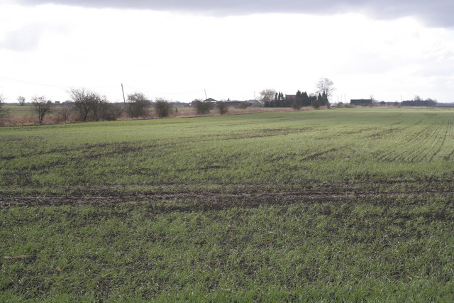 Farm on Barne's Drove, Bourne Fen