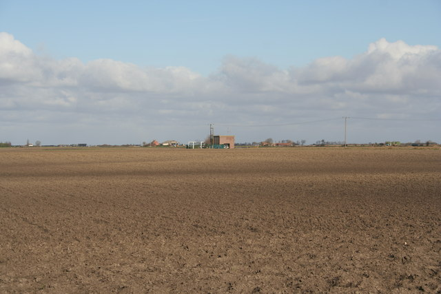 Pumping station on New Dyke, Morton Fen