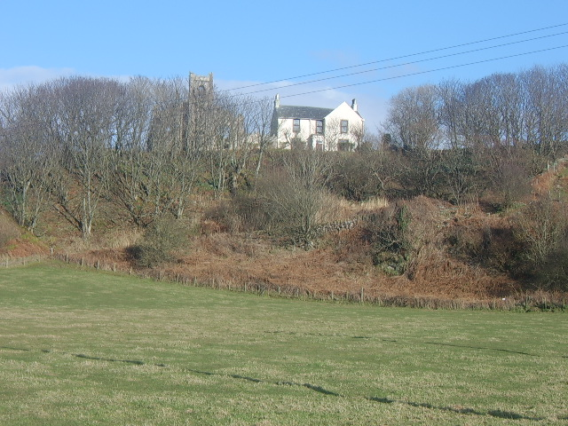 High Church (in ruins) and Manse, North Crubasdale
