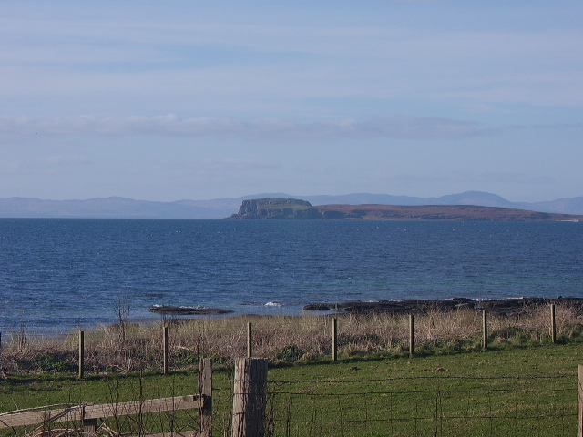 Cara Island taken from A'Chleit