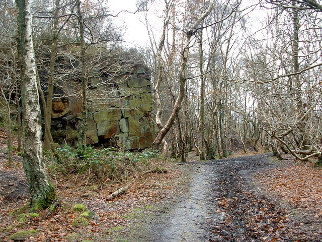 Old Quarries, Greasy Slack Wood