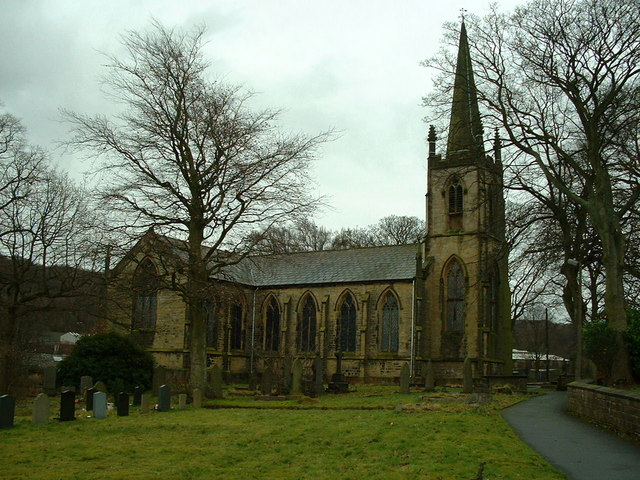 St James Church, Meltham Mills