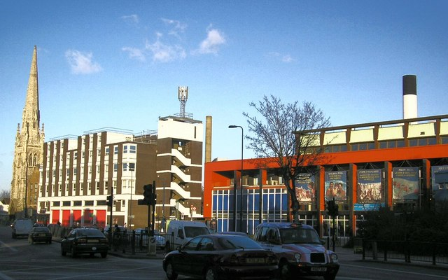 Lewisham Fire Station and Leisure Centre