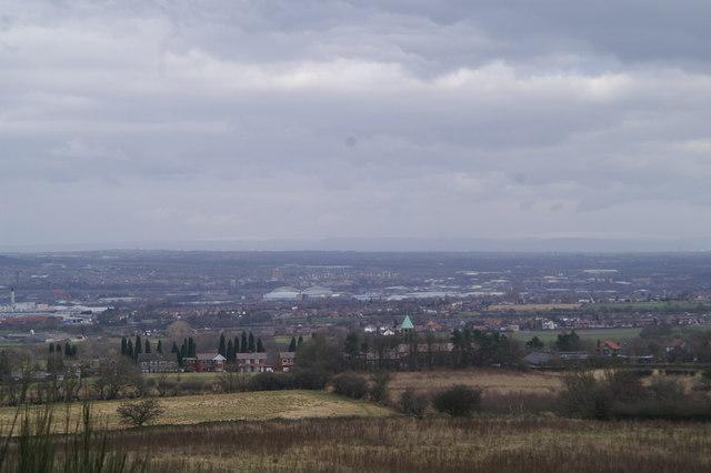 Wigan panorama