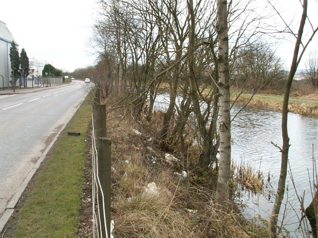 Forth and Clyde canal near Bonnybridge