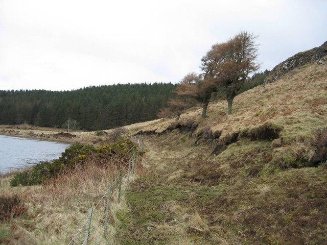 Track at Loch Suardal