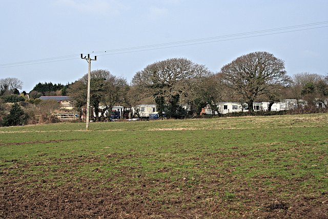 Holiday Village beyond the Field
