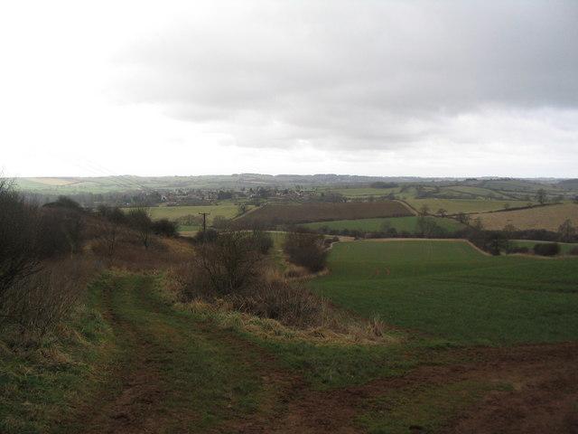 Footpath toward Belton, Rutland