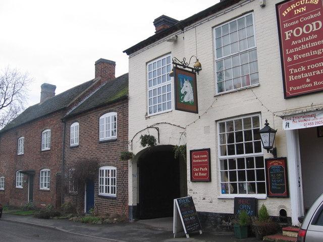Hercules Pub in Sutton Cheney