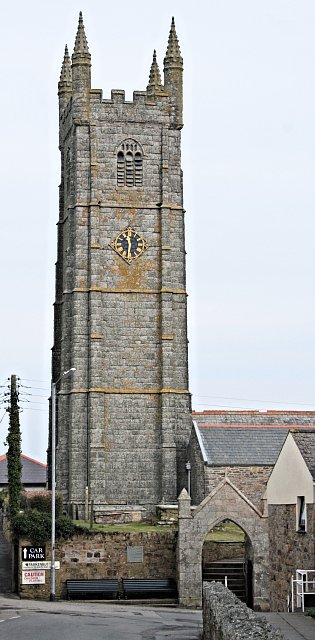 St Columb Minor Church Tower