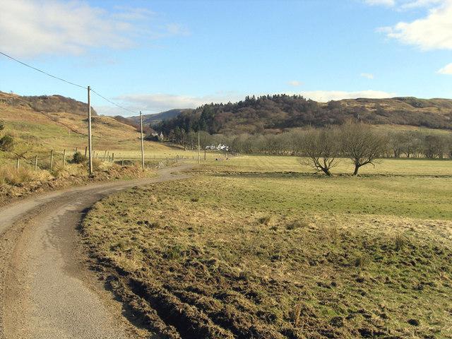 Strontoiller Farm, Glen Lonan