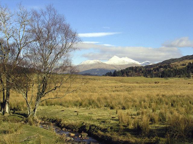 Glen Lonan - looking East