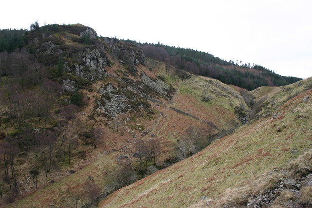 Shoulthwaite Gill, High Seat