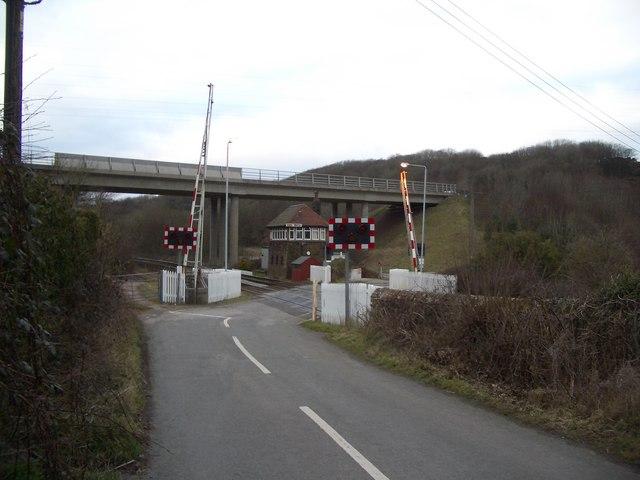 Level Crossing at Thwaite Flat