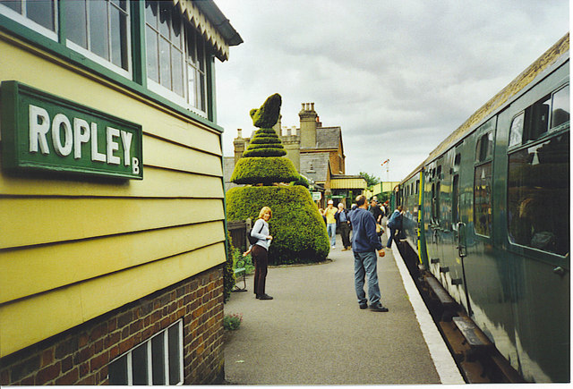 Ropley Station.