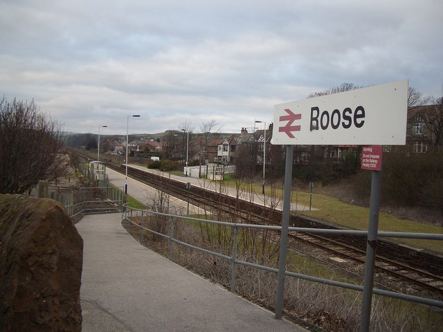 Roose Railway Station