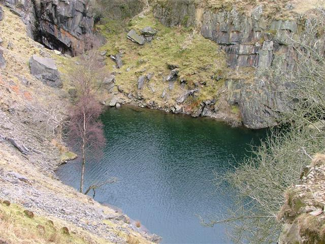 Tranearth Quarry, North Eastern End