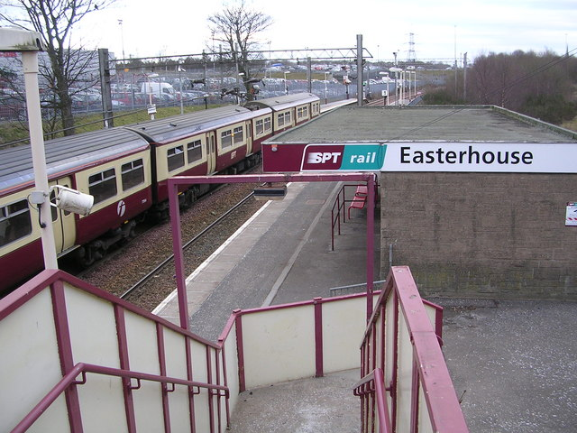 Easterhouse Railway Station