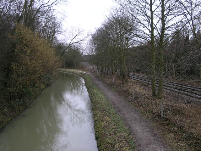 Canal and Railway